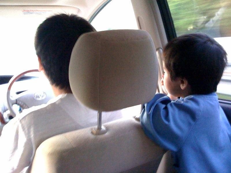 パパとドライブ